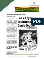 Carlos de La Rosa Vidal - Las 7 Leyes Espirituales Del Genio Orador