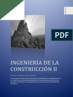 Ingeniería de La Construcción II
