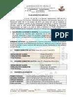 Plan Operativo CE Monserrate 2014