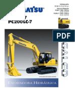 Ficha Tecnica Komatsu 200 -7