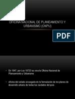 Oficina Nacional de Planeamiento y Urbanismo (Onpu