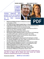 2015-10-13 Bill de Blasio Hospital Closings Flyer