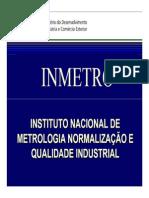 Metrologia Inmetro