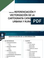 Geo-referenciación y Vectorización