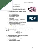 166 2 Unité 0 Correcciones Pronoms Complément