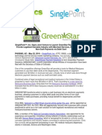 Singlepoint Greenstar Joint Venture May 22, 2014