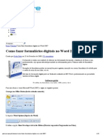 Como Fazer Formulários Digitais No Word 2007 _ Pplware