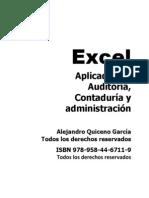 Excel Aplicado a La Auditoria Libro