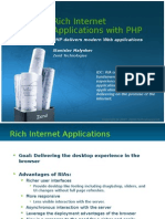Rich Internet Applications with PHP