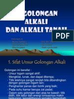 Kimia Gol.alkali Dan Alkali Tanah Power Point