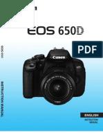 EOS 650D Instruction Manual En