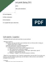 Lab Reports