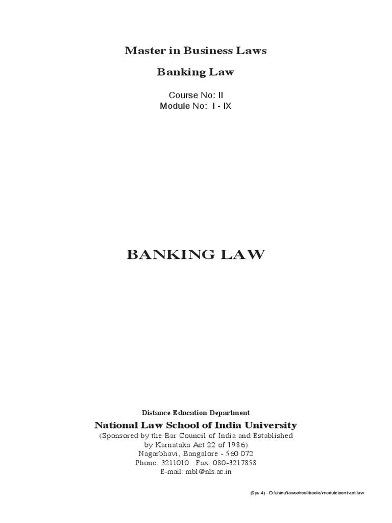 Banking law study material 1 reserve bank of india banks nvjuhfo Choice Image