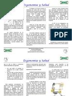 Trifoliar Ergonomía y Salud en El Espacio de Trabajo