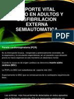 Soporte Vital Basico en Adultos y Desfibrilacion Externa