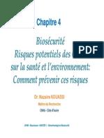 Biotech Master I - UFHB -BIOSCIENCES CHAP 4 FF [Mode de Compatibilité]