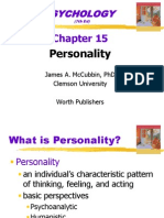 15 Personality