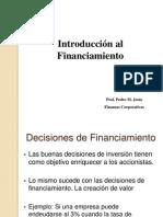 Finanzas Corporativas - Introduccion Al Financiamiento
