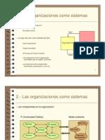 Las Organizaciones Como Sistema