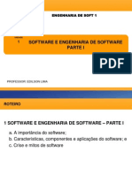 1 Software e Engenharia de Software Тау Parte i
