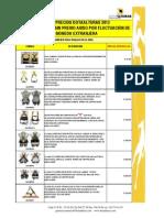LISTA DE PRECIOS SEGURIDAD INDUSTRIAL SEGUNDO SEMESTRE 2013.pdf