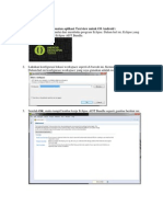 Langkah-langkah Membuat Textview Eclipse