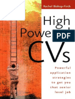High Powered CV - Rachel Bishop-Firth