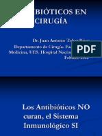 Antibioticos en Cirugia-guias de Manejo