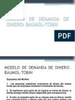 Modelo de Baumol Tobin
