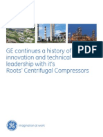 GE Roots Compressors Brochure
