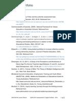 edfd 657 - references  digital portfilio