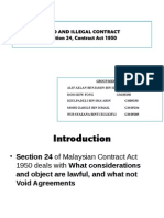 Void and Illegal Contract -Final
