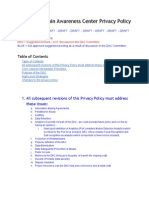 Oakland Domain Awareness Center Privacy Policy DRAFT - May22 2014