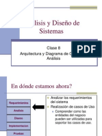 Clase8ArquitecturayClasesDeAnalisis