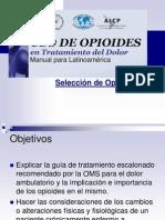 Uso Cronico de Opiodes