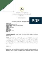 Politicas Publicas e Educacao Brasileira - 2013-1