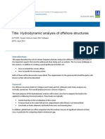 Whitepaper-001-Hydrodynamic Analysis of Offshore Structures