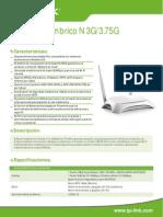 TL-MR3420 V2 Datasheet ES