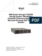 IBM DS3300 ESRP Storage Solution Guide