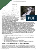 Mikrohidro - Wikipedia Bahasa Indonesia, Ensiklopedia Bebas