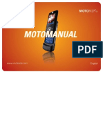 Motorola Z3 Manual