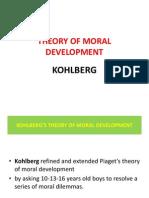 Kohlberg -Moral Development