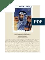 Dos Passos in the Desert - Aramco World, Jul/Aug 1997