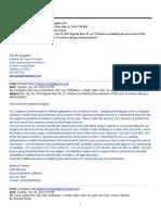 Kernighans 8 ACLU Response