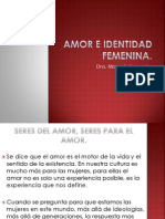 Amor e Identidad Femenina