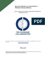 cochrane coll parkinson vs placebo 2012.pdf