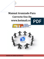 Manuel Avanzado Para Correcto Uso de Www.hotmail.com