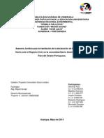 Unión Estable De Hecho Proyecto.docx