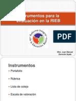 Instrumentos para la evaluación en la RIEB.pptx