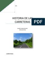 Historia de Las Carreteras
